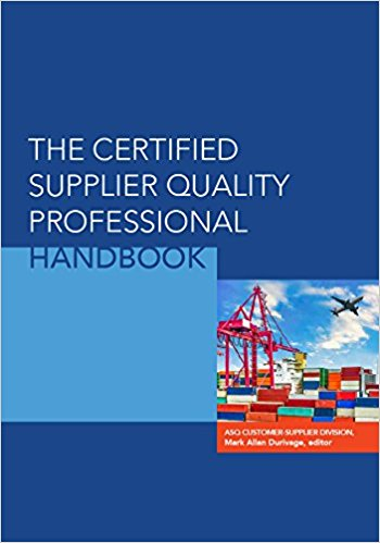Certified Supplier Professional Handbook